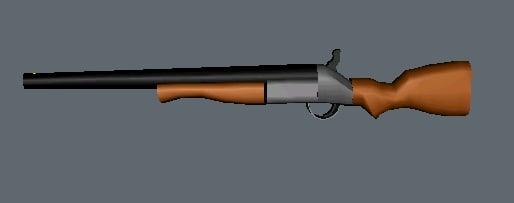 3d model gmax shotgun