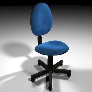 office chair 3d c4d