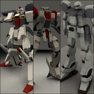 3d 3ds mechs animation