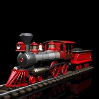 lightwave toy train