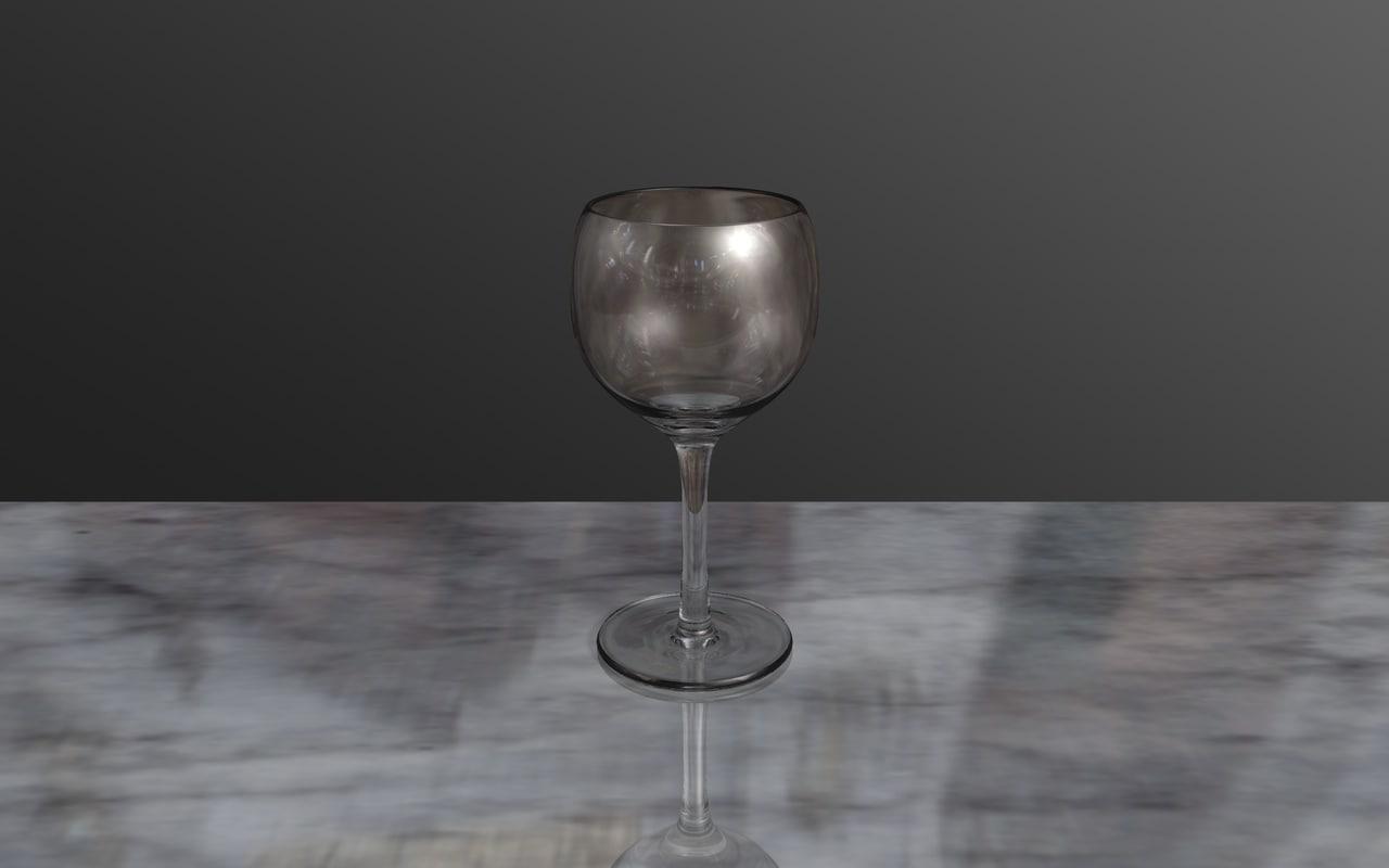 wine glass c4d free
