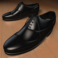 3d shoes leather