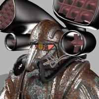 maya suit powered armour