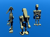 lego battle droid 3ds free