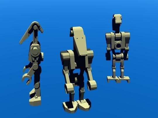 lego battle droid 3ds free