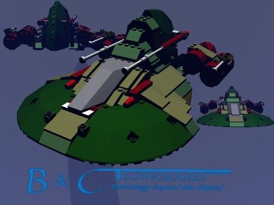3d model lego jungle set