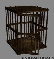 3d death cage model