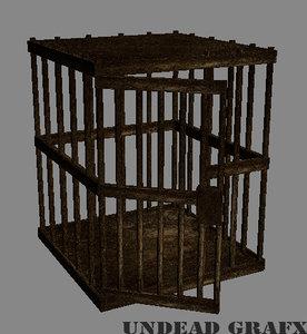 3d death cage model
