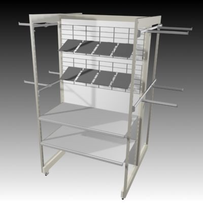 3d clothes rail model