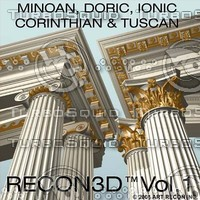 recon3d vol 1 greek roman 3ds