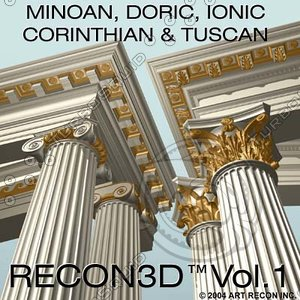 recon3d vol 1 greek roman 3ds