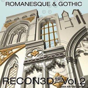 3d recon3d vol 2 medieval art