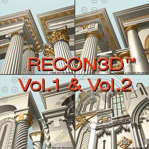 3d model recon3d vol 1 2:greek