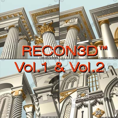 3d model recon3d vol 1 2:greek
