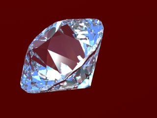 cut diamond 3d model