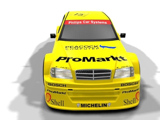 3d model mercedes sports car