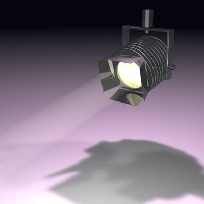 spot spotlight light 3d model