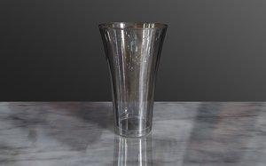 free drinks glass 3d model