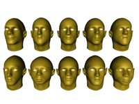 10 male heads package v1.max