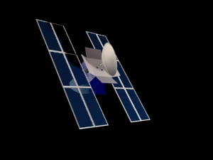 communications satellite max