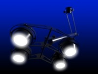3dsmax atrium light