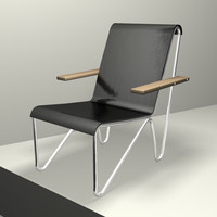 cinema4d chair gerrit rietveld