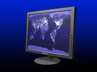 sony sdmp82 tft monitor 3d model