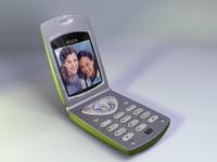camera flip phone iges 3d ige