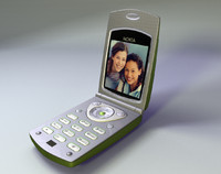 3d model of camera flip phone studiotools