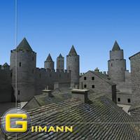 3D Castle 1