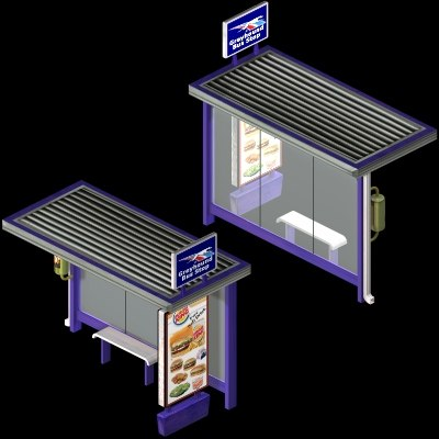 free max mode bus stop