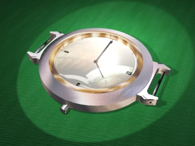 3d model watch