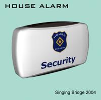 house alarm 3d model