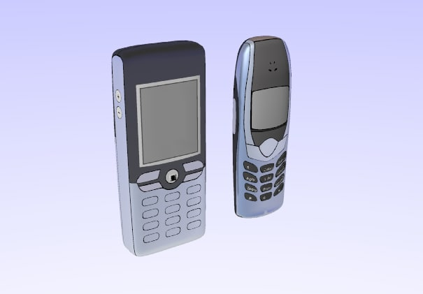 3d cell phone