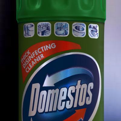 domestos 3d model