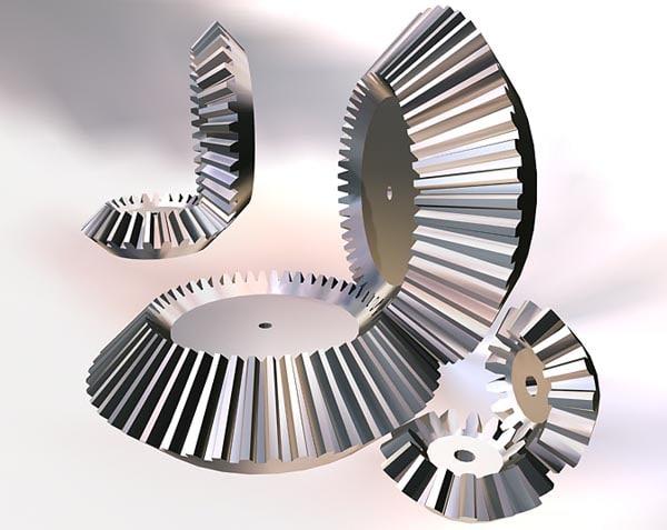 3d model gears spurgears