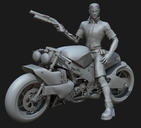 zorg motocycle 3d ma