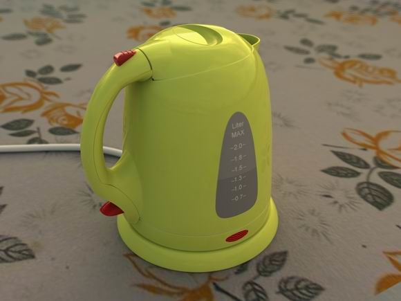 3ds max electric teapot