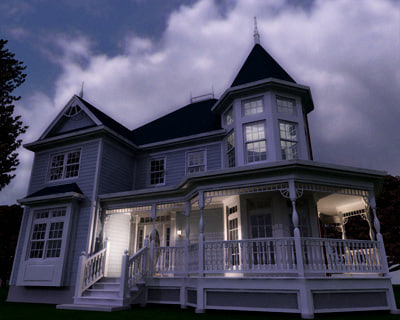 architecturally house 3d model