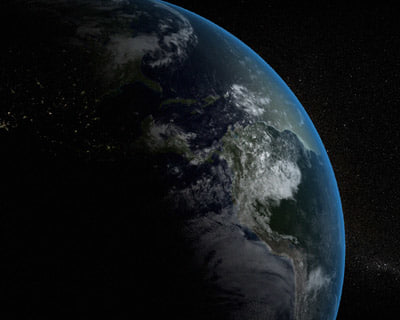 3ds max photorealistic earth