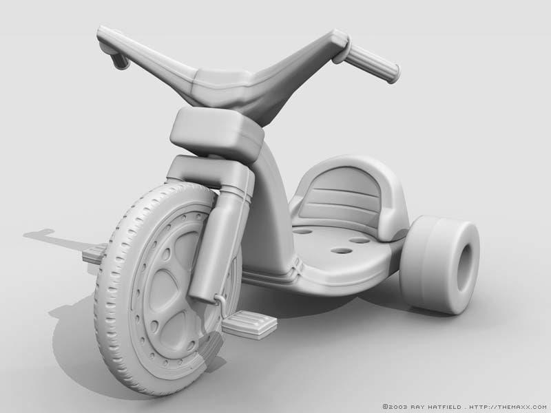 3d model bigwheel big wheel