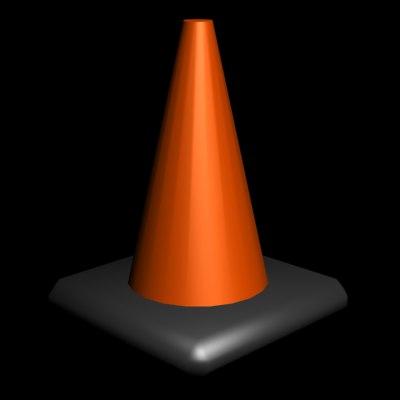 free max model traffic cone