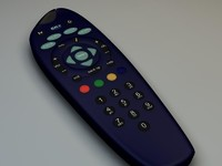 sky remote control 3d model