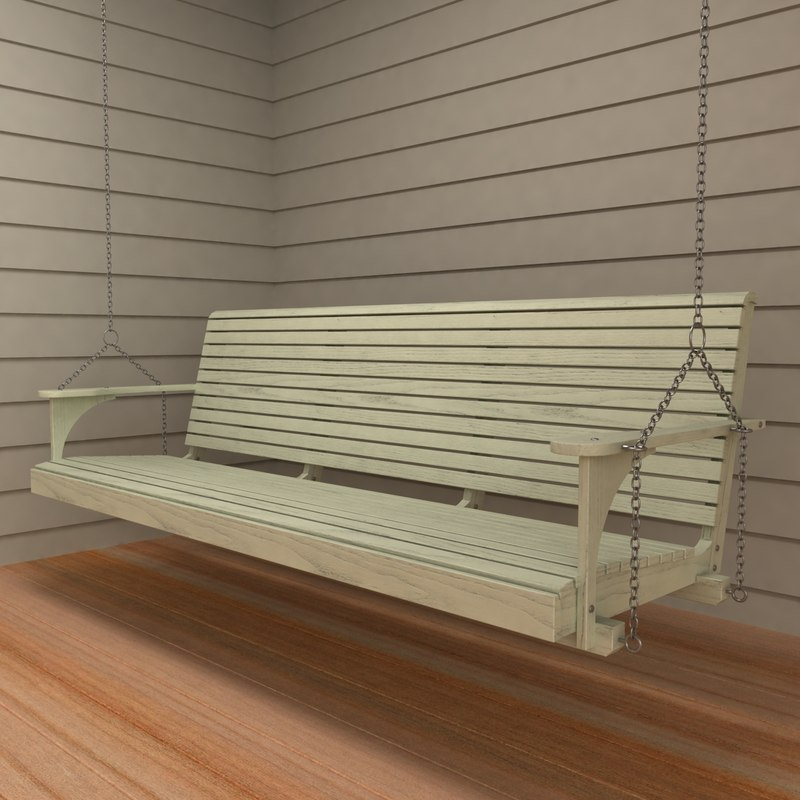3dsmax porch swing