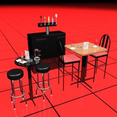 bar tap 3d model