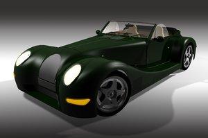 morgan aero 8 3d model