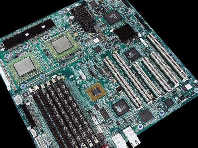 motherboard computer board 3d model