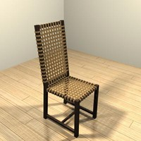 3d chair otto