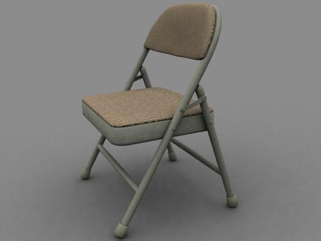 maya chair folding