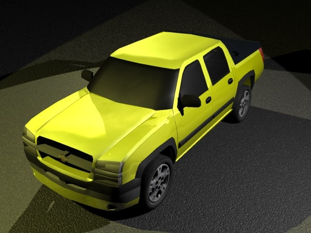 chevrolet avalanche 3ds